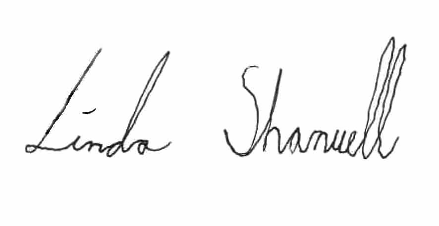 Linda signatur